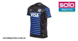 Perdóneme estoy sediento hielo  Camiseta Nike Los Pumas Alternativa Negra | Solo Deportes