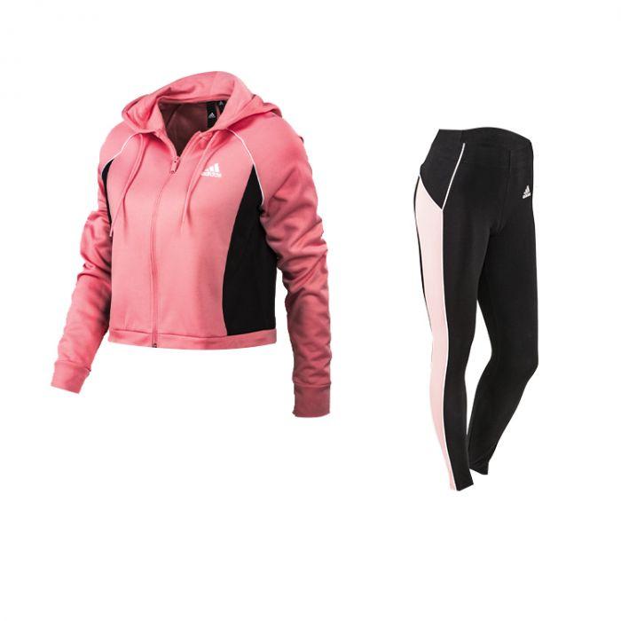 pronóstico envío Milagroso  Conjunto Adidas Mujer Rosa   Solo Deportes